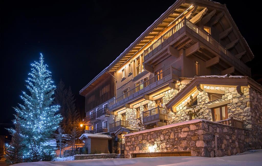 French Ski Chalet